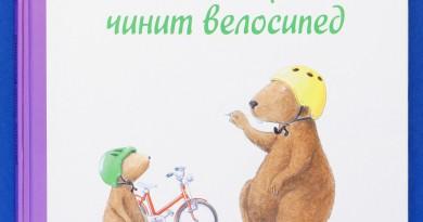 Ларс Клинтинг. Кастор чинит велосипед
