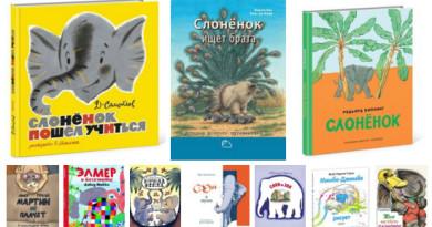 Книги о слонах