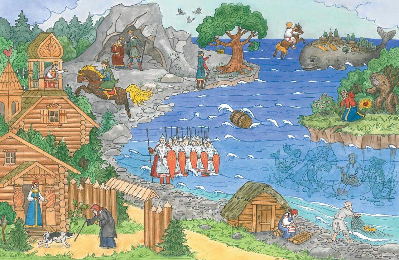 Картинка царства для детей