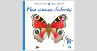 Стефан Каста. Моя книга бабочек