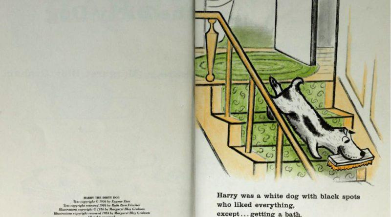 Джин Сион. Гарри, грязный пёс