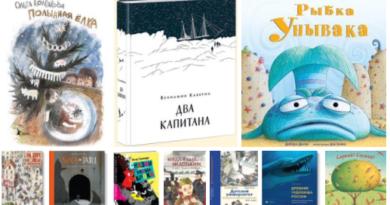 Лучшие детские книги. Март 2017