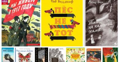 Лучшие детские книги. Апрель 2017